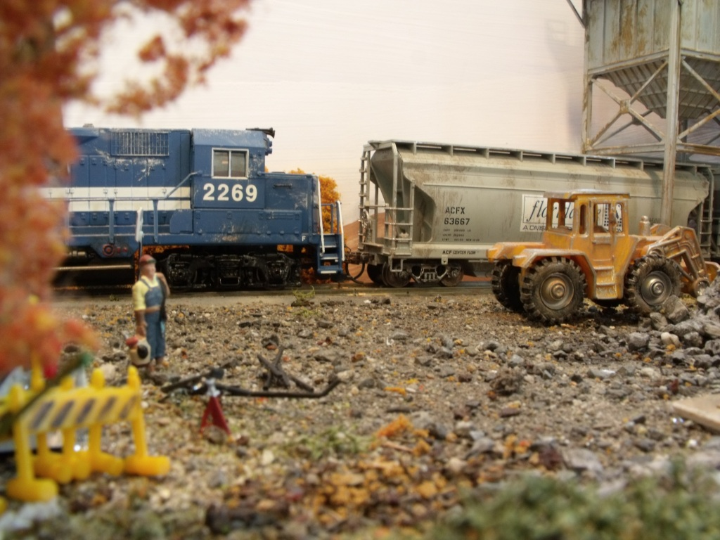 A scene from my old model railroad