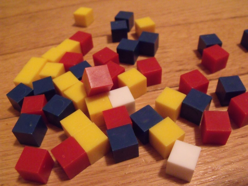 Cubes! It must be a good game, right? Right? ...