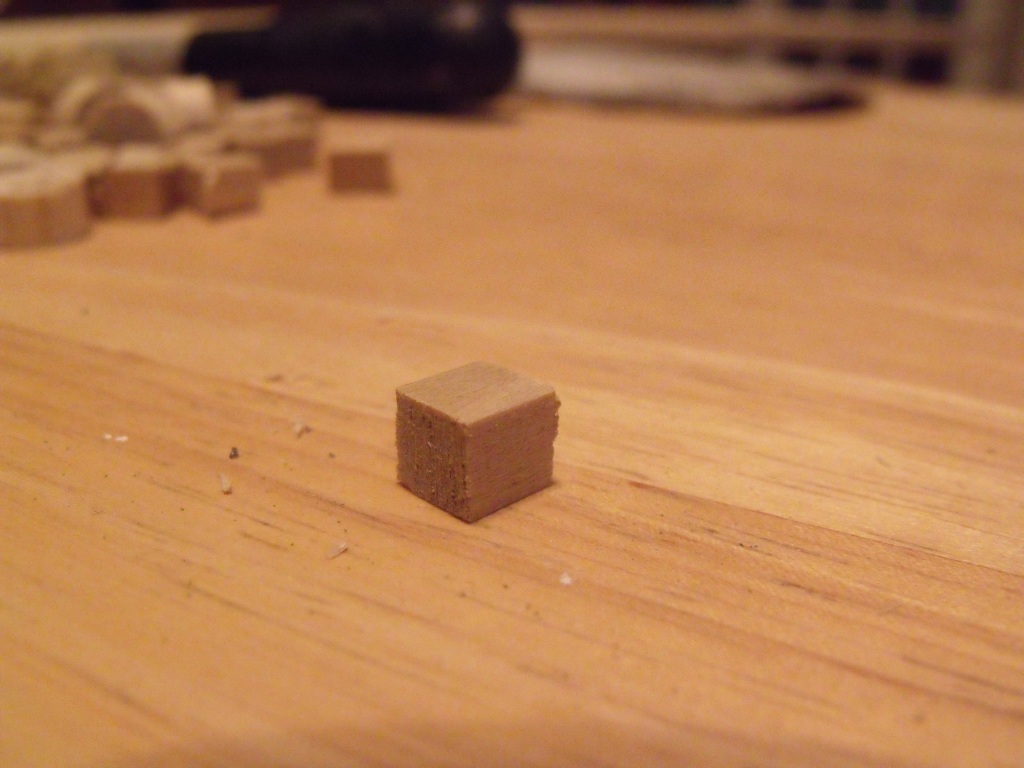 A finished cube