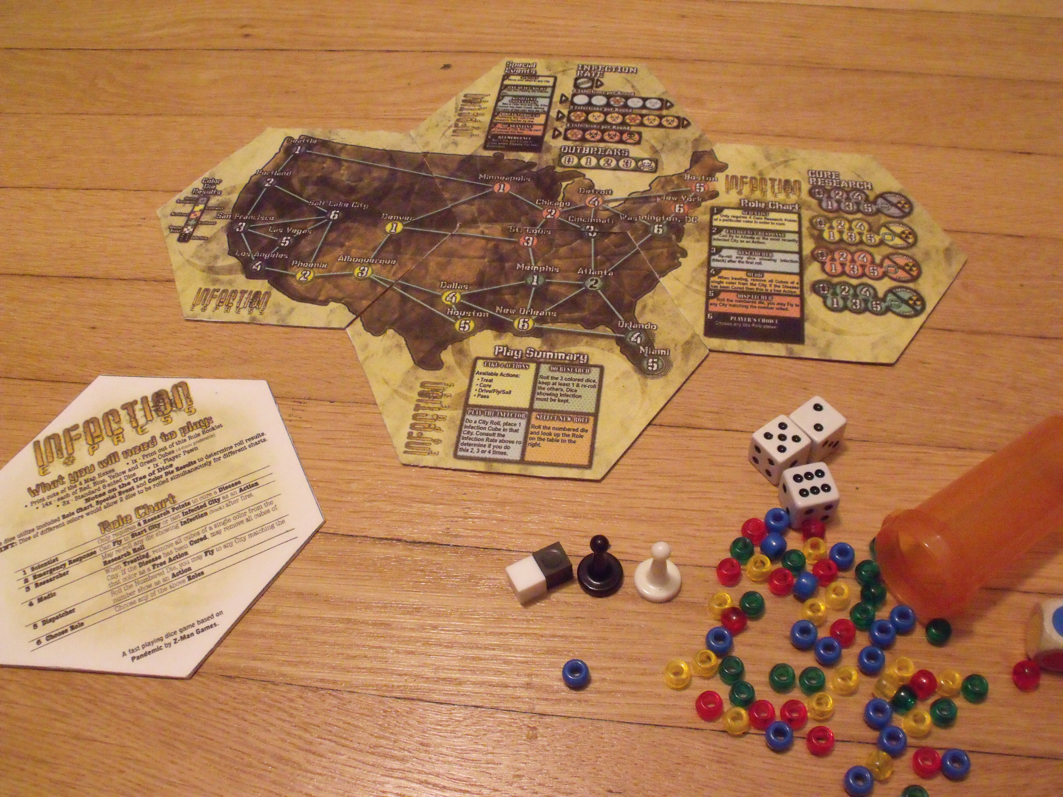 Saving Humanity, One Dice roll At a Time ( A Review of Infection ...
