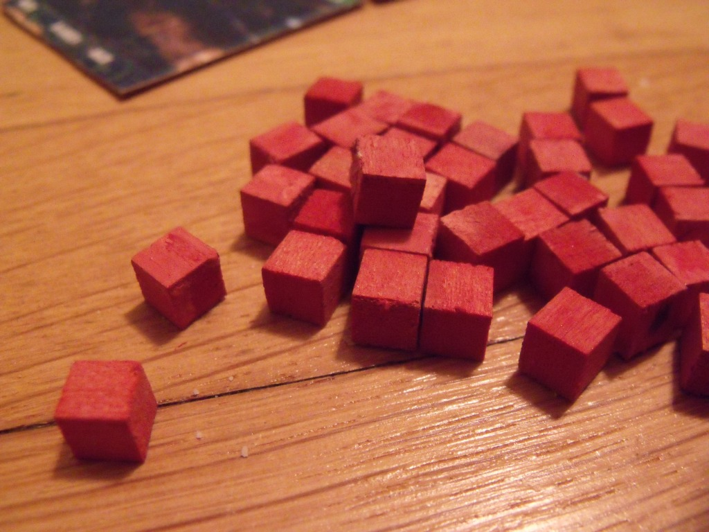 Cubes! Though, you don't want too many of these...